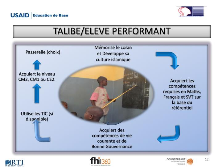 TALIBE/ELEVE PERFORMANT