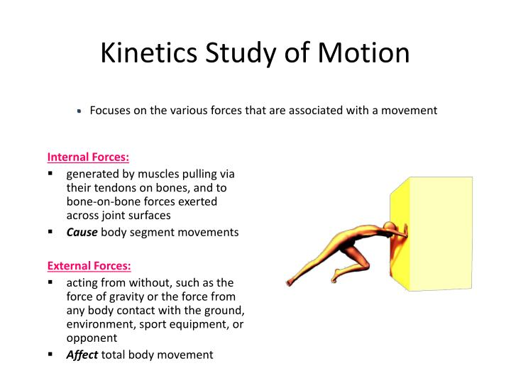 Kinetics Study of Motion