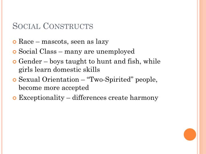 Social Constructs