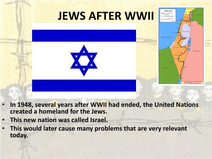 JEWS AFTER WWII