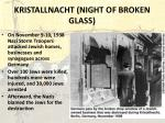 kristallnacht night of broken glass