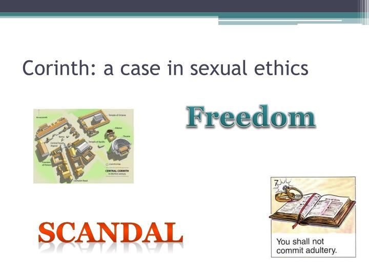 Corinth: a case in sexual ethics