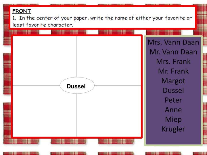Mrs. Vann