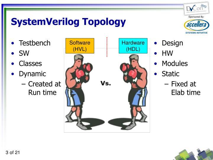 SystemVerilog Topology