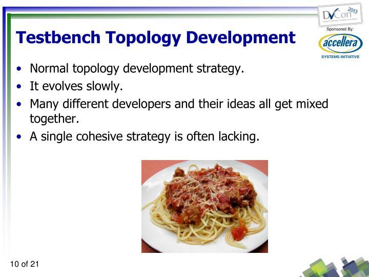 Testbench Topology Development