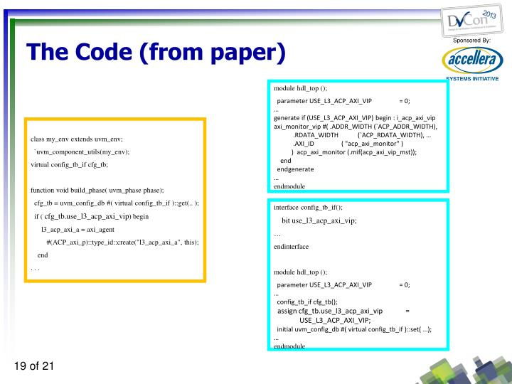 The Code (from paper)