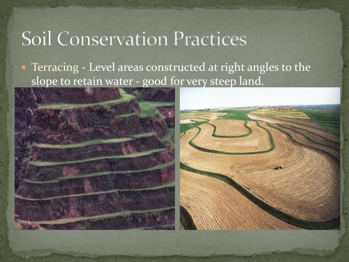 Soil Conservation Practices