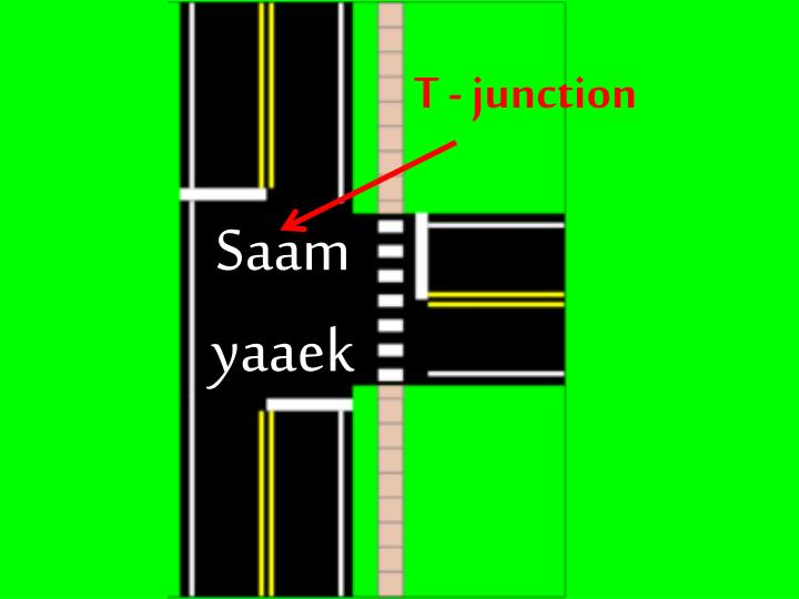 T - junction