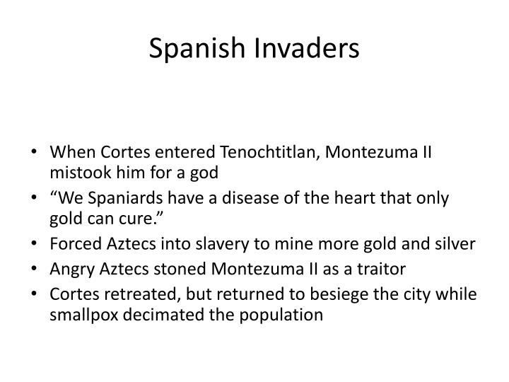 Spanish Invaders