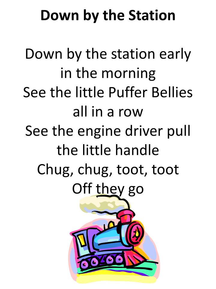 Down by the station song lyrics