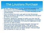the louisiana purchase1