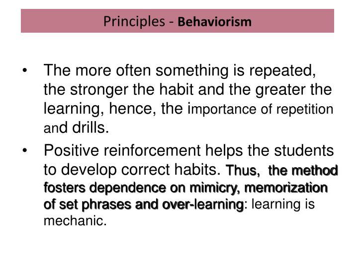 Principles -