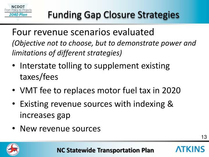 Funding Gap Closure Strategies