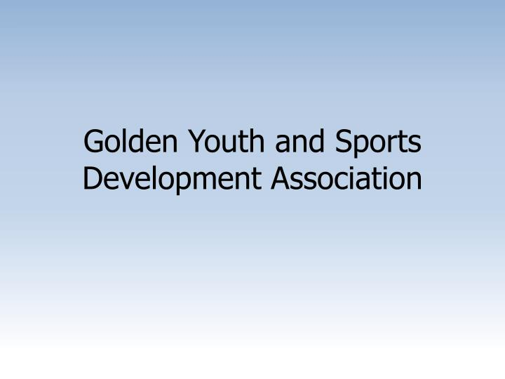 Golden Youth and Sports Development Association