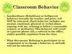 classroom behavior1