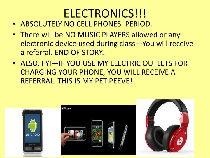 ELECTRONICS!!!