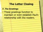 the letter closing10