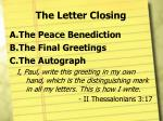 the letter closing2