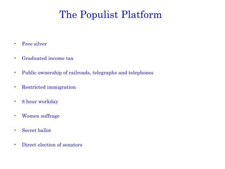 The Populist Platform