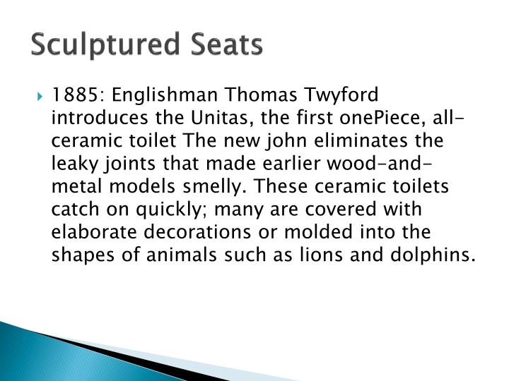 Sculptured Seats