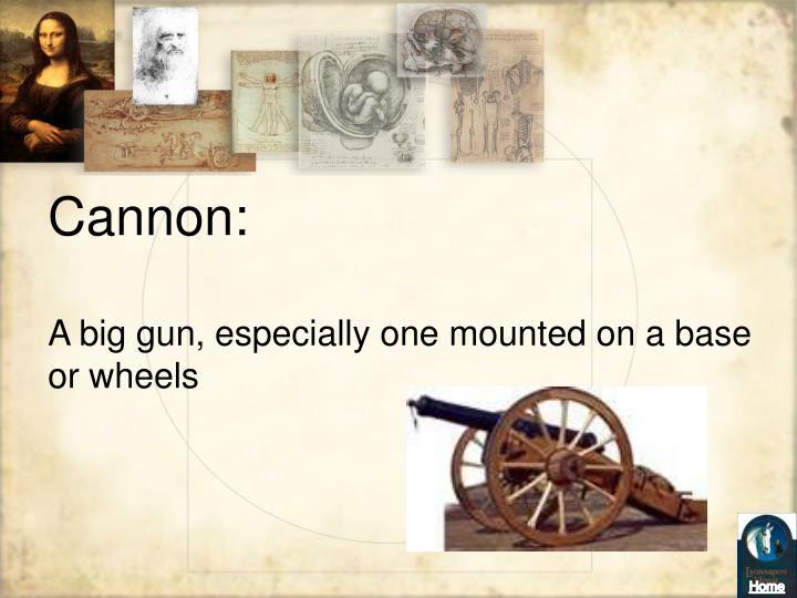 Cannon: