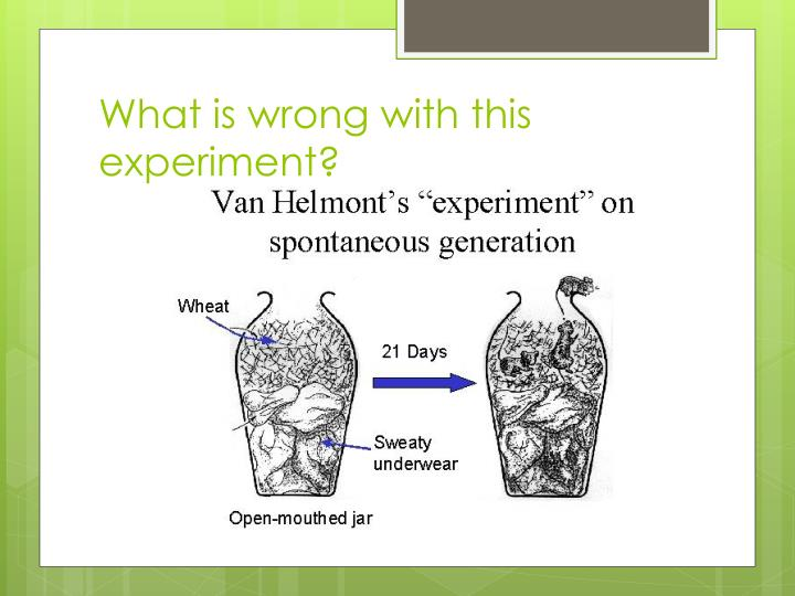 What is wrong with this experiment