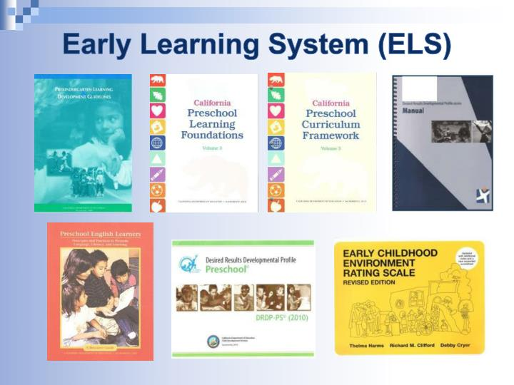 Early Learning System (ELS)