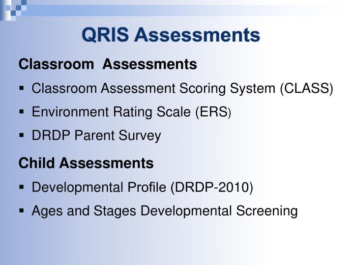 QRIS Assessments