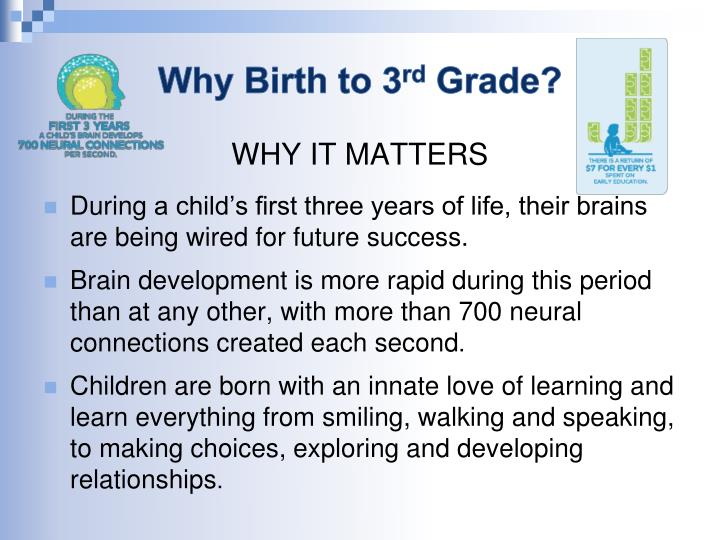 Why Birth to 3
