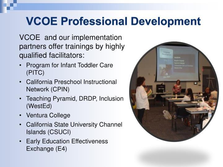 VCOE Professional Development