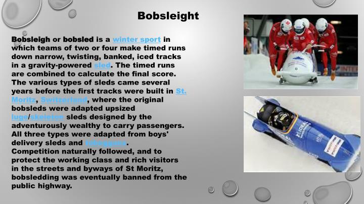 Bobsleight