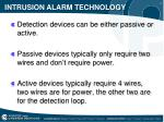 intrusion alarm technology1