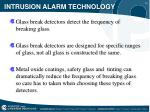 intrusion alarm technology12