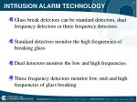 intrusion alarm technology14