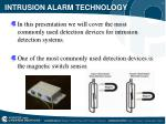 intrusion alarm technology2