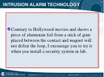 intrusion alarm technology9