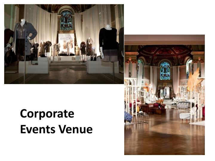 Corporate Events Venue