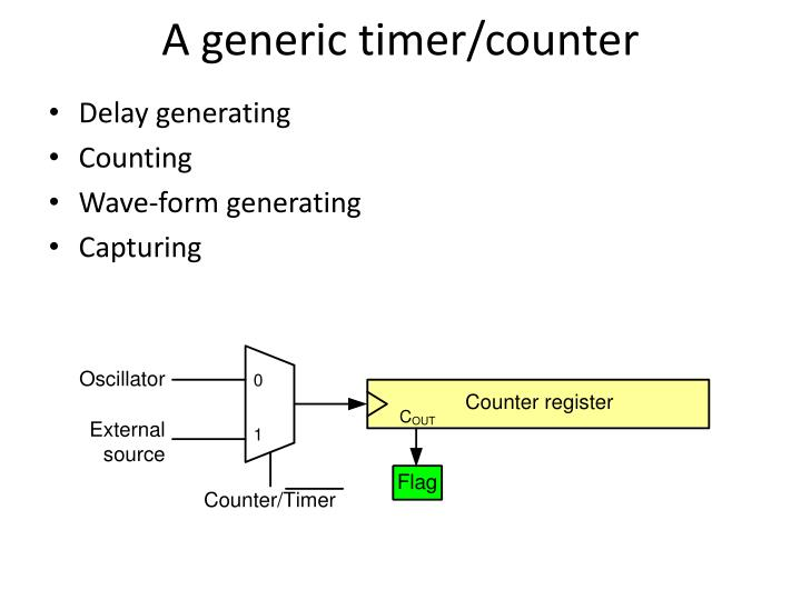 A generic timer/counter