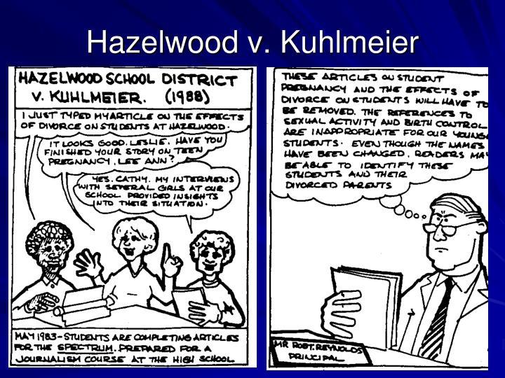 Hazelwood v.