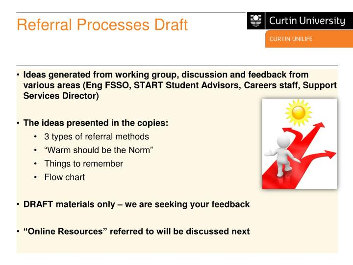 Referral Processes Draft