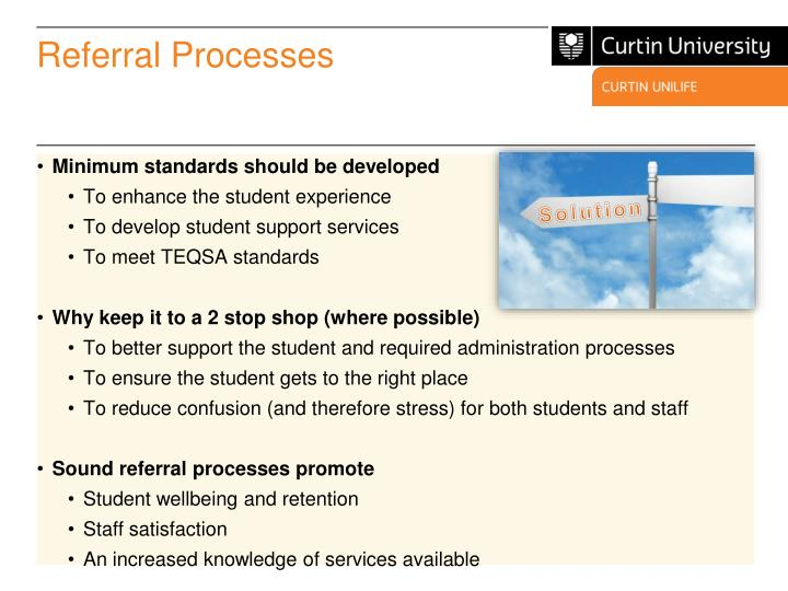 Referral Processes