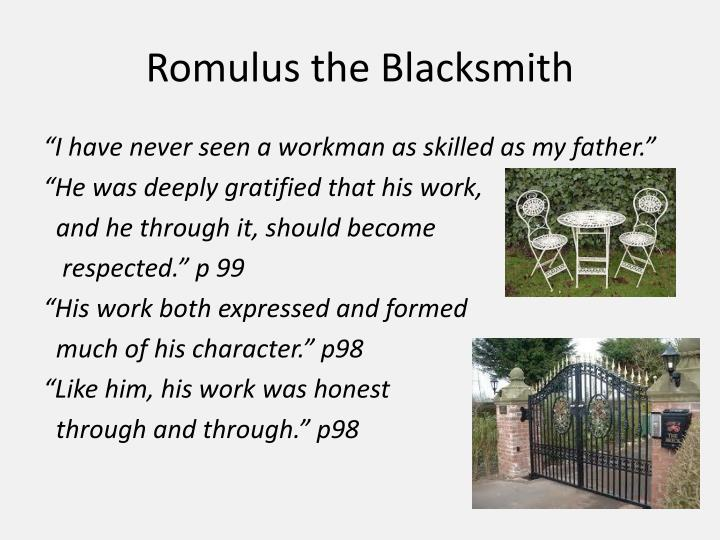 Romulus the Blacksmith