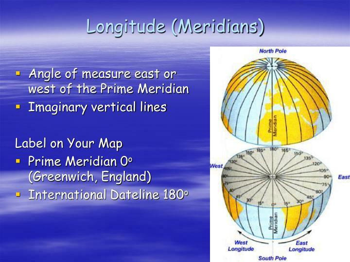 Longitude (Meridians)