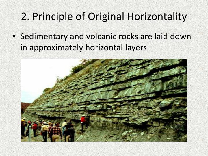 2. Principle of Original Horizontality