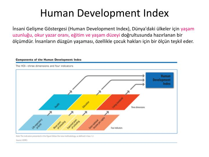 What is human development index HDI definition and