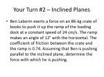 your turn 2 inclined planes