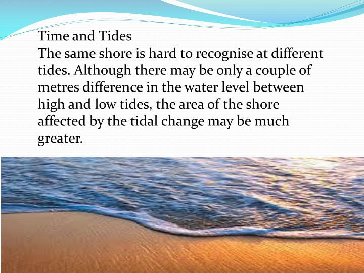 Time and Tides