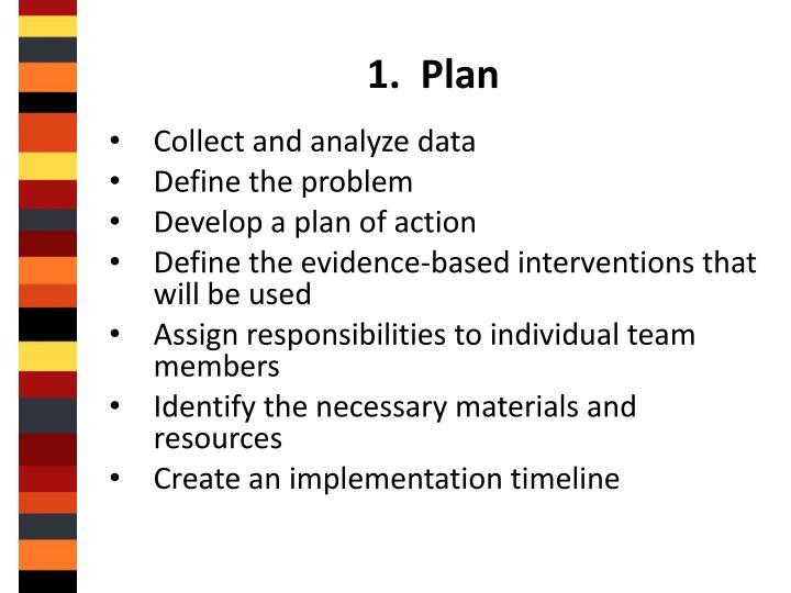 1.  Plan