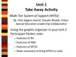 unit 1 take away activity