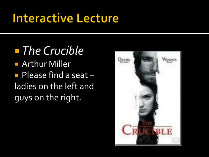 Interactive lecture